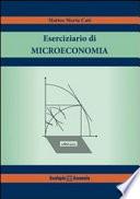 ESERCIZIARIO DI MICROECONOMIA