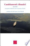cambiamenti climatici racconti Shylock Cafoscarina