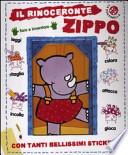 Il rinoceronte Zippo . Con adesivi