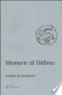Memorie di Didimo