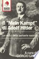 Il Mein Kampf di Adolf Hitler