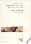 Su Heidegger. Cinque voci ebraiche