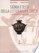Storia e testi della Letteratura Greca Vol 2 Tomo secondo