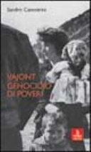 Copertina  Vajont : genocidio di poveri