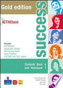 success 1 - Students' book and wokbook + livebook (cd)