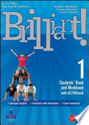 BRILLIANT 1 STUDENTBOOK + WORKBOOK 1+ ACTIVE BOOK 1+ CULTURE BOOK 1