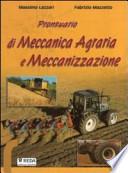 prontuario di meccanica agraria a meccanizzazione