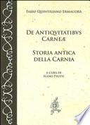 STORIA ANTICA DELLA CARNIA