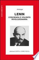 Lenin coscienza e volontà rivoluzionaria