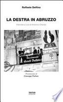 La destra in Abruzzo