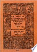 Il nuovo mondo-De orbo novo. I viaggi di Cristofo Colombo di Pietro Martire d'Angera. Prima testimonianza scritta su