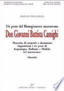 Don Giovanni Battista Casnighi. Un prete del Risorgimento italiano