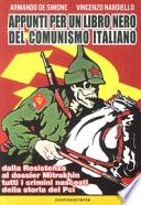 appunti per un libro nero del comunismo italiano