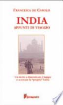 India. Appunti di viaggio.