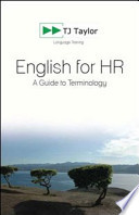 English for HR. A Guide to Terminology