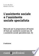 L�assistente sociale e l�assistente sociale specialista
