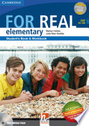 For real. Elementary. Multimedia pack. Con CD Audio. Con CD-ROM. Con espansione online