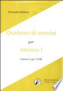 Quaderno di esercizi per Athenaze 1