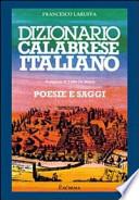 dizionario calabrese italiano, poesie e saggi