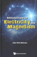 Book cover of Introduction to electricity and magnetism