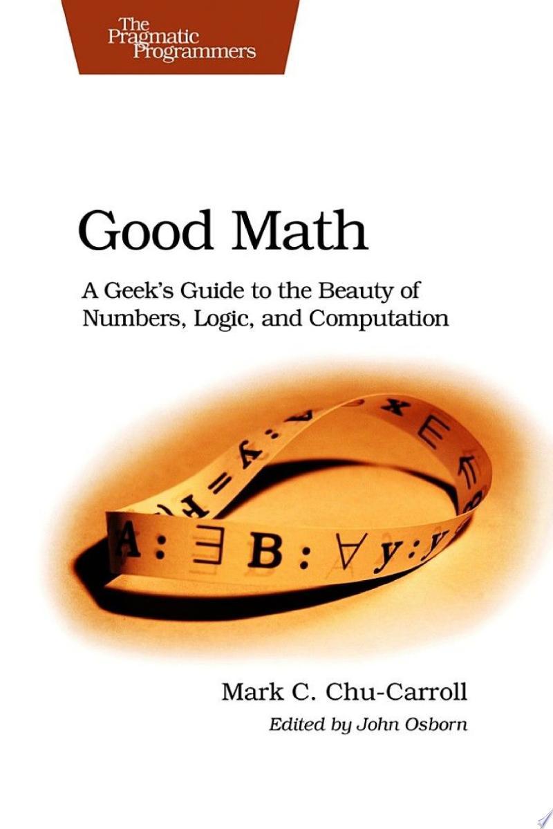 Good Math banner backdrop