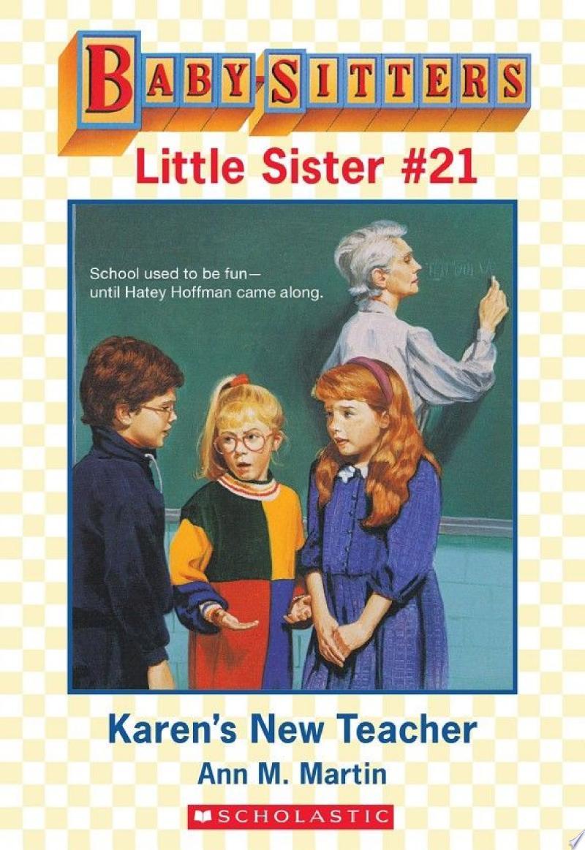 Karen's New Teacher (Baby-Sitters Little Sister #21) banner backdrop