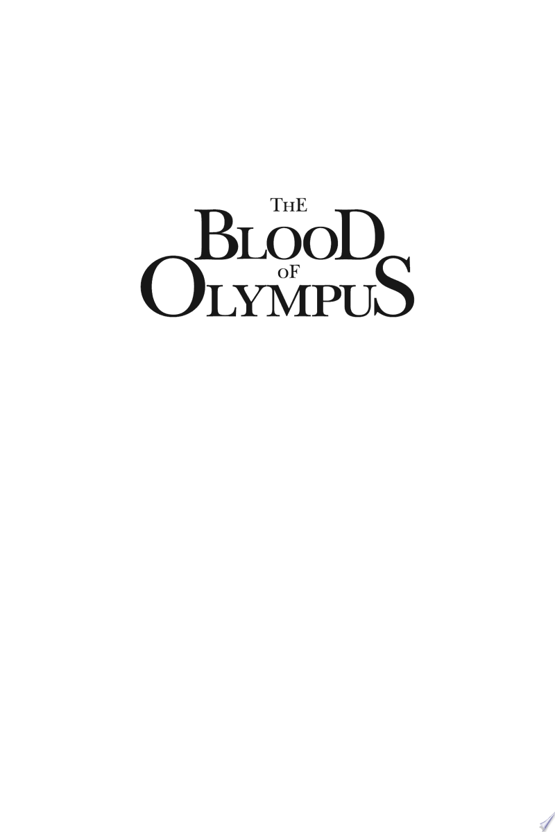 The Blood of Olympus banner backdrop