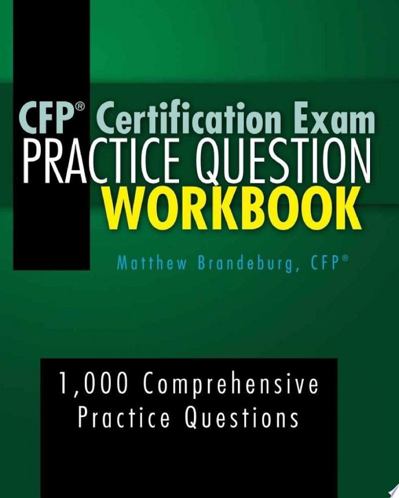CFP Certification Exam Practice Question Workbook banner backdrop