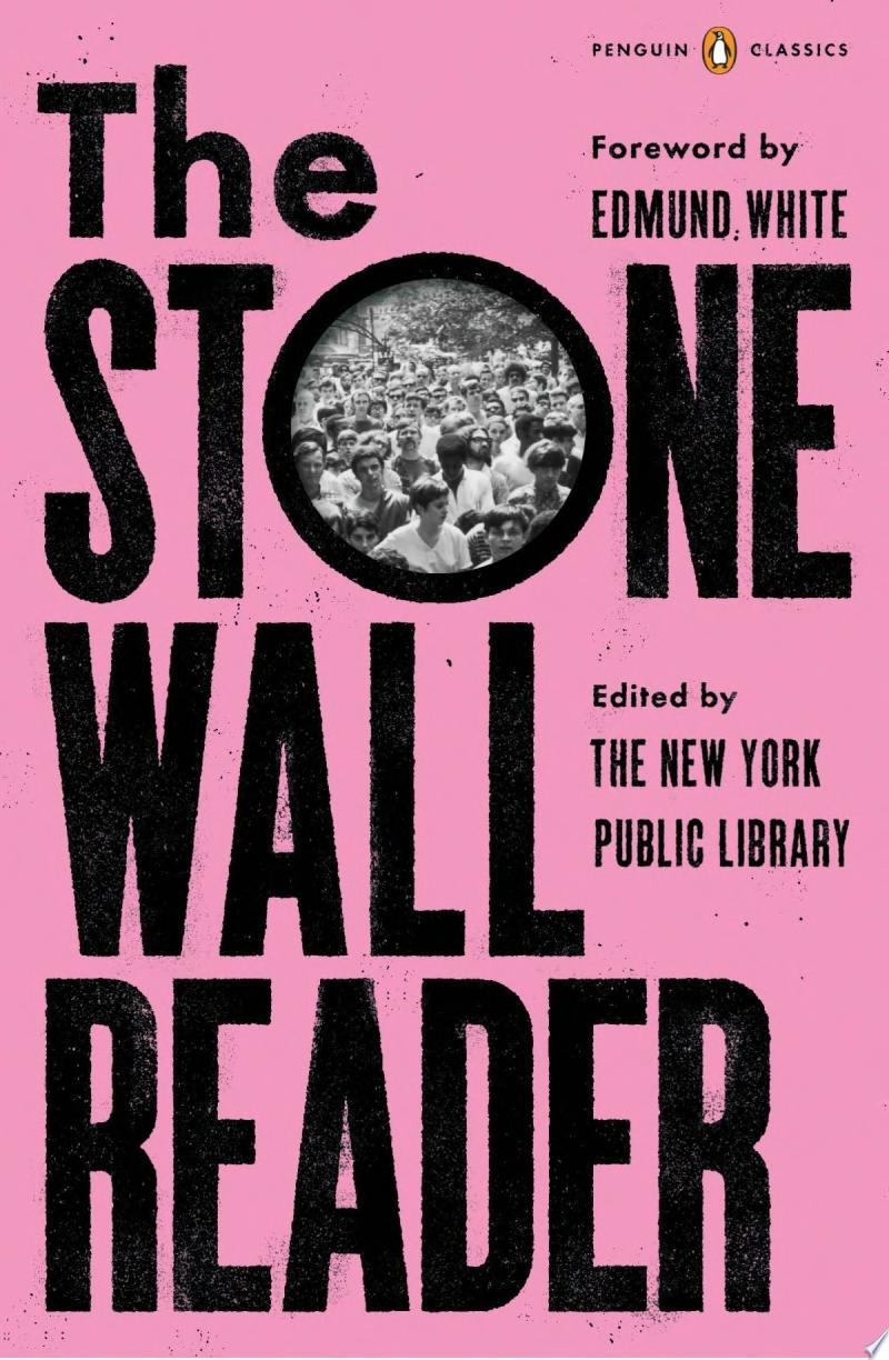 The Stonewall Reader banner backdrop