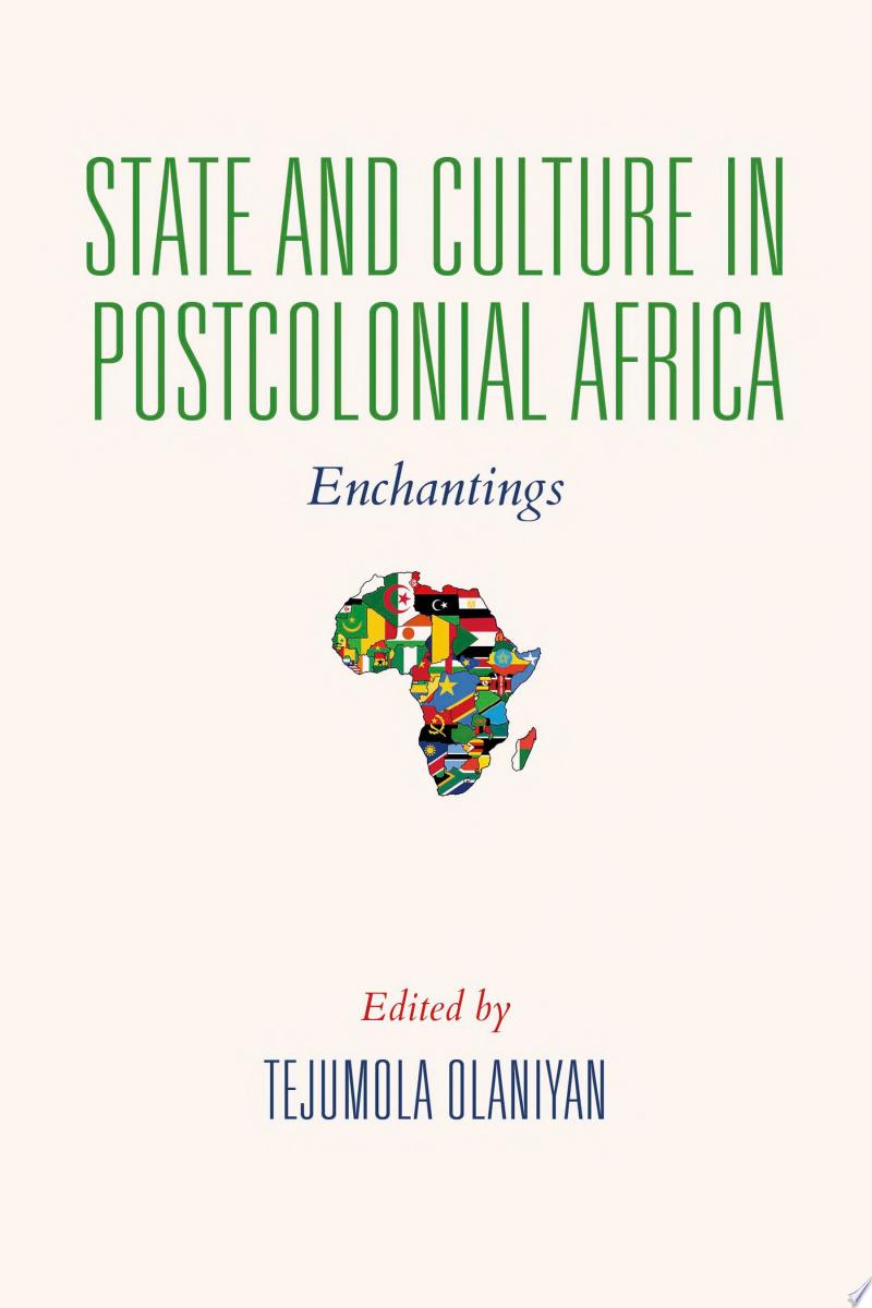 State and Culture in Postcolonial Africa banner backdrop