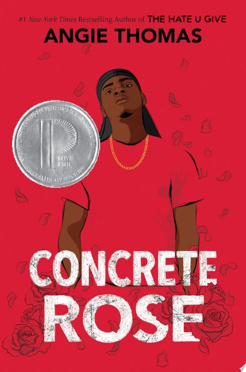Concrete Rose banner backdrop