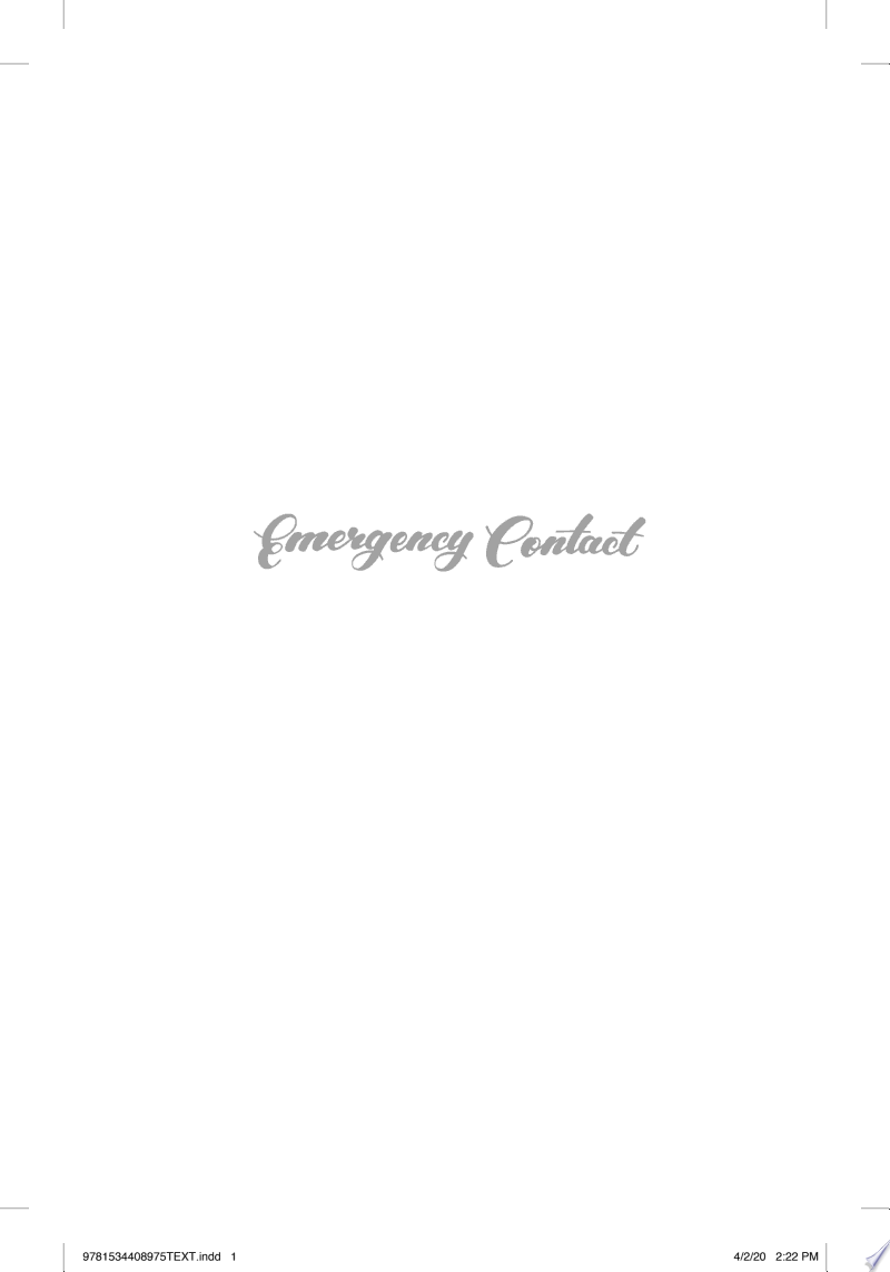 Emergency Contact banner backdrop
