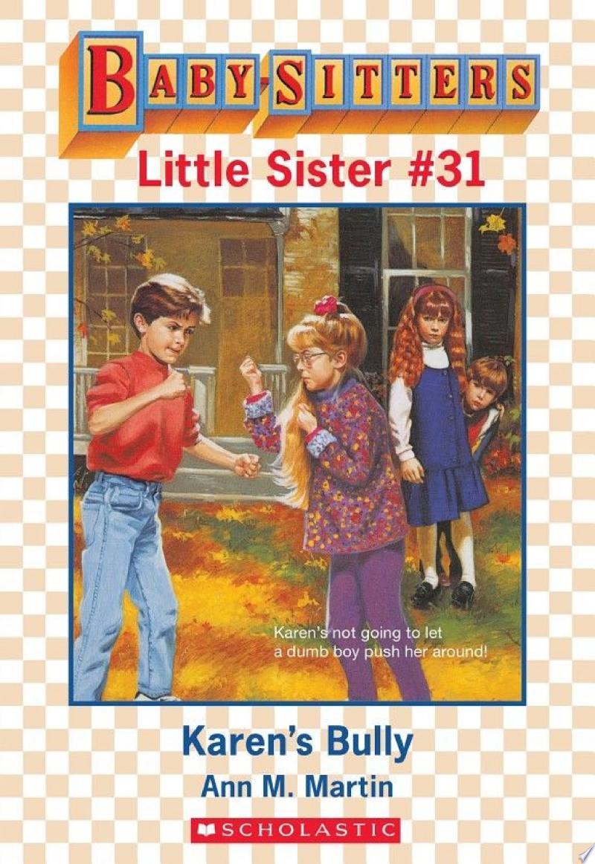 Karen's Bully (Baby-Sitters Little Sister #31) banner backdrop