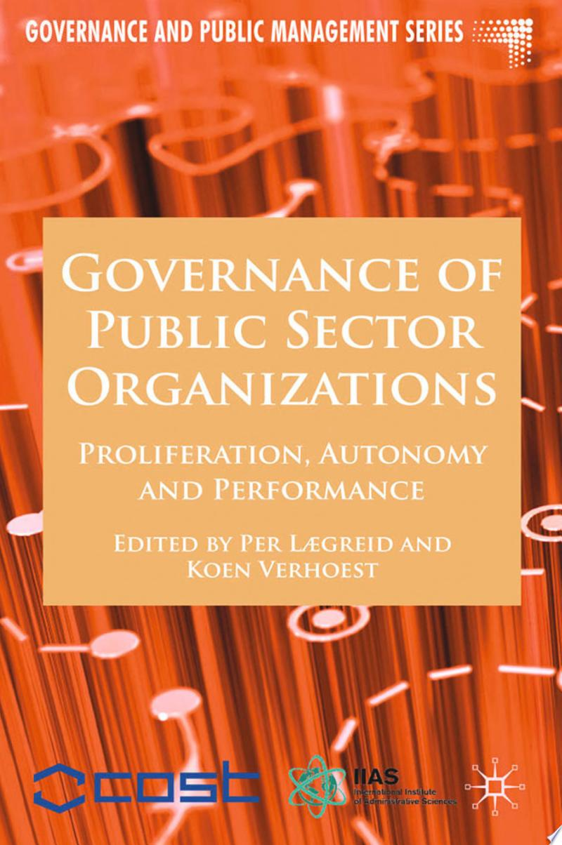 Governance of Public Sector Organizations banner backdrop