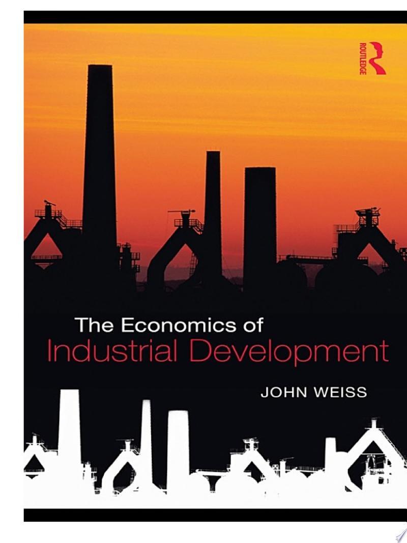 The Economics of Industrial Development banner backdrop