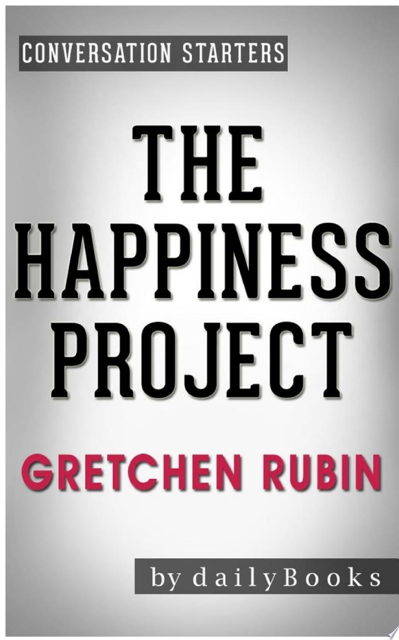 The Happiness Project: by Gretchen Rubin | Conversation Starters banner backdrop