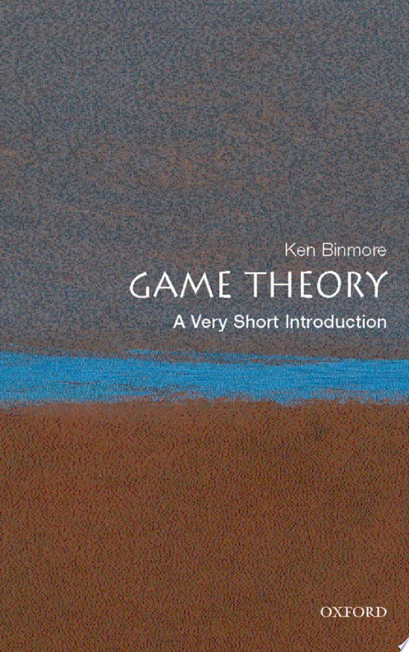 Game Theory: A Very Short Introduction banner backdrop