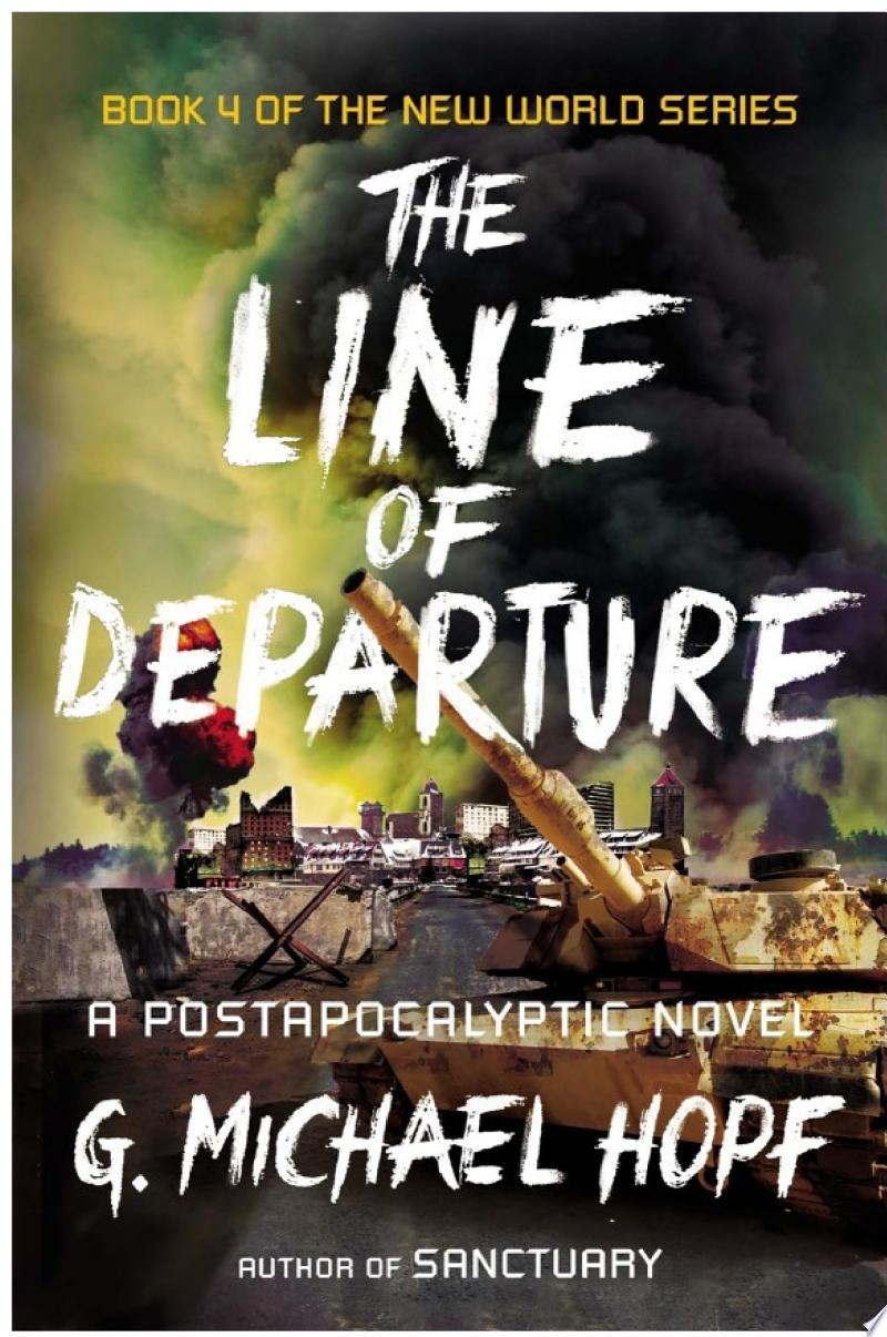 The Line of Departure banner backdrop