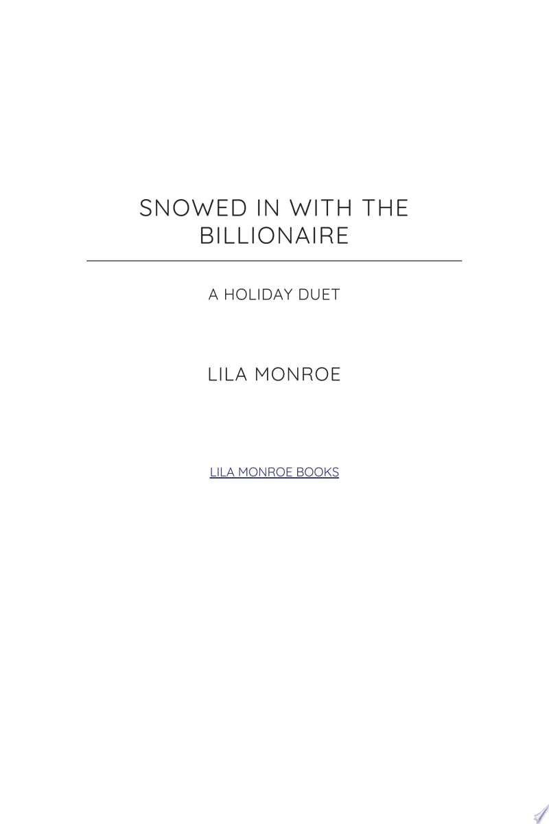 Snowed in with the Billionaire (A FREE Holiday Collection) banner backdrop