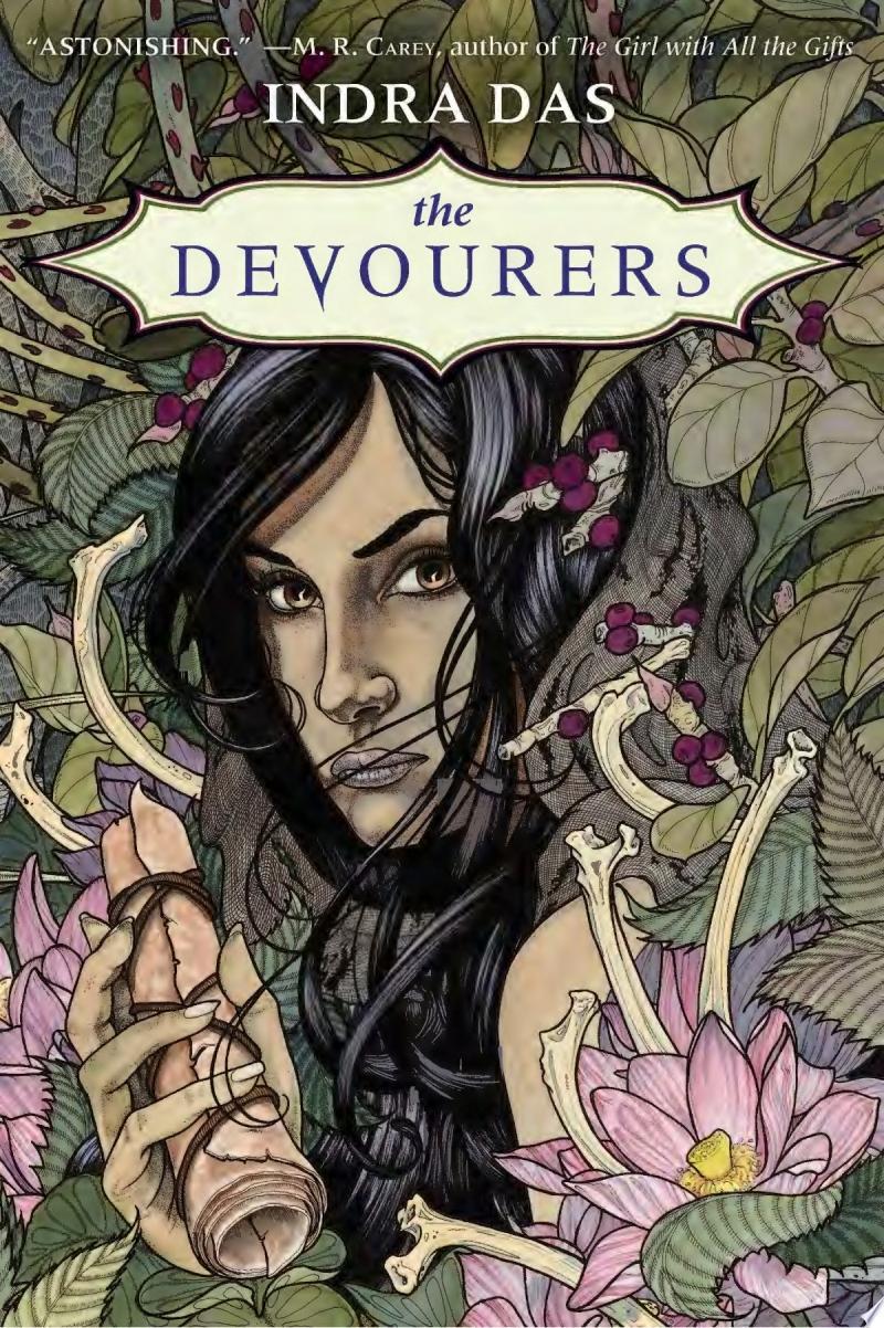 The Devourers banner backdrop