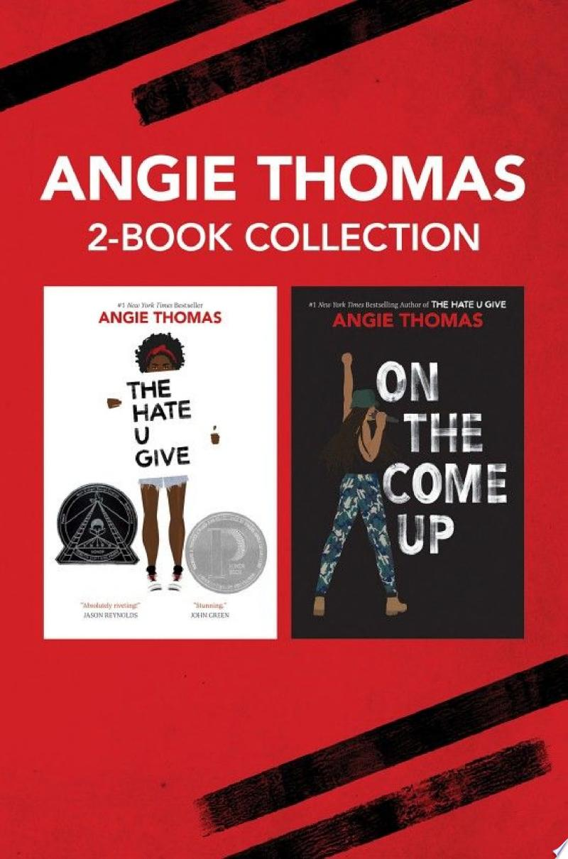 Angie Thomas 2-Book Collection banner backdrop