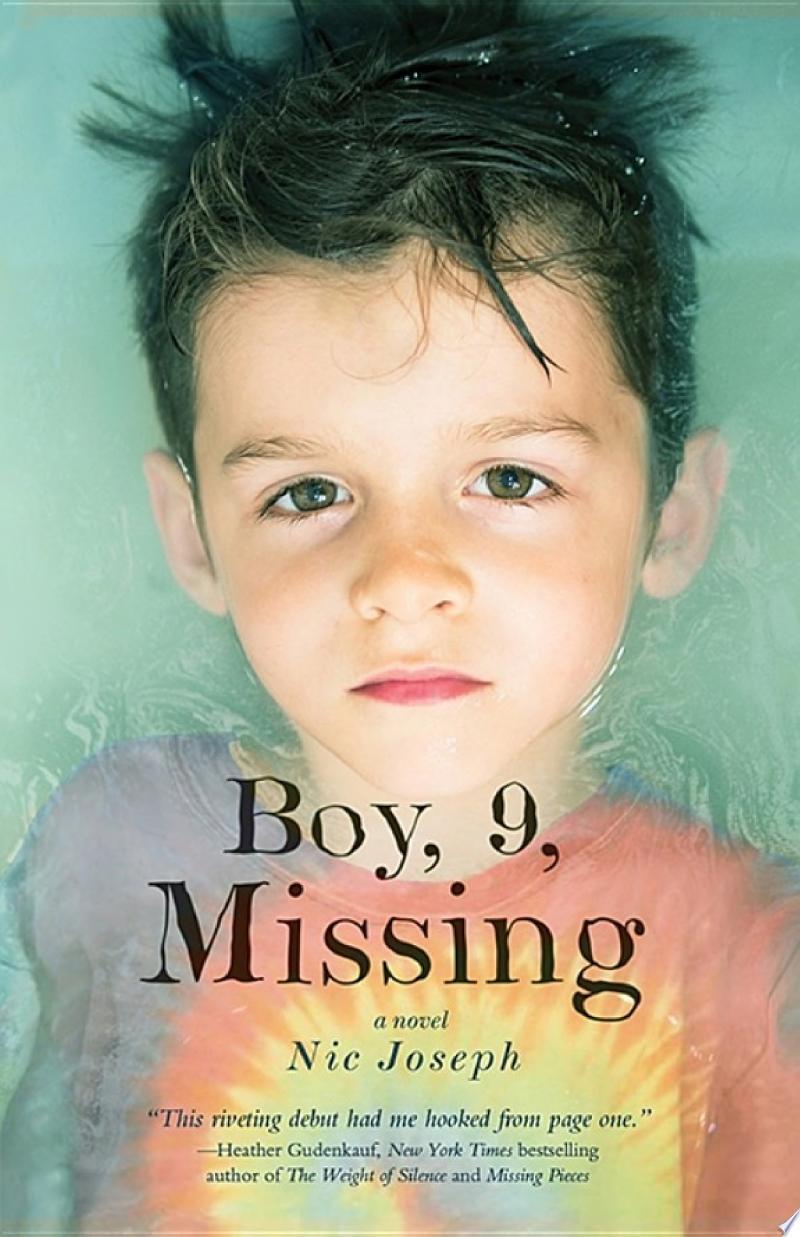 Boy, 9, Missing banner backdrop