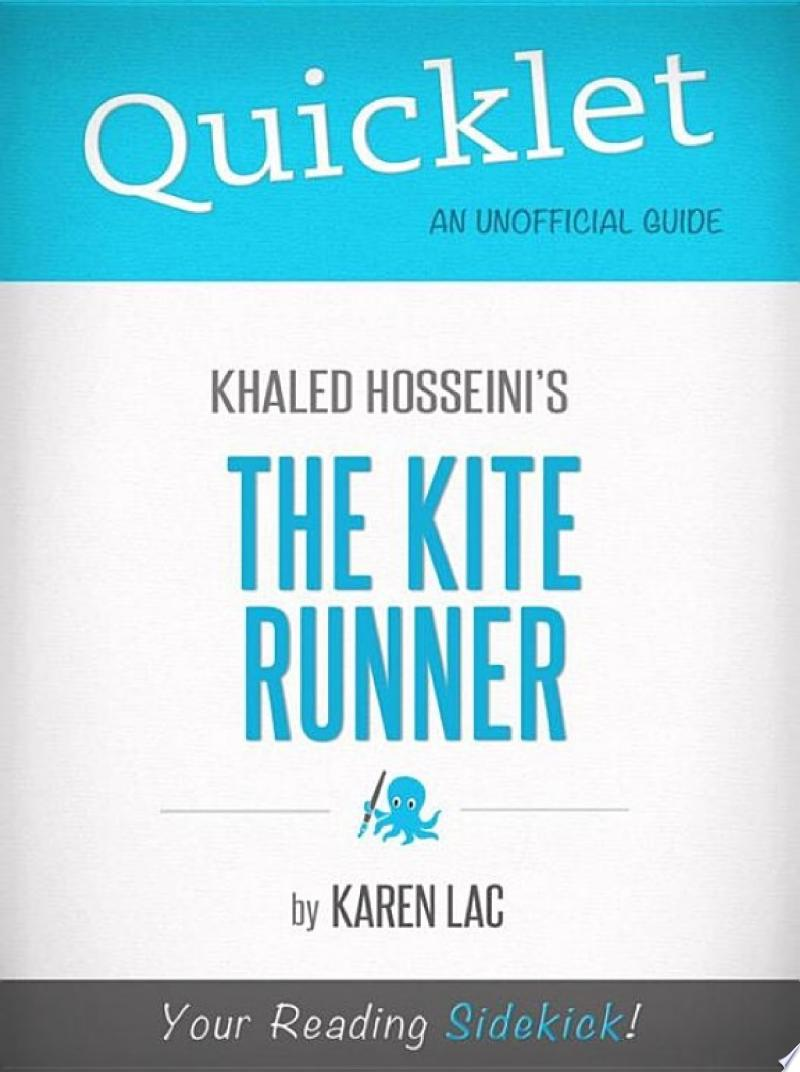 Quicklet On The Kite Runner By Khaled Hosseini (CliffNotes-like Book Summary) banner backdrop