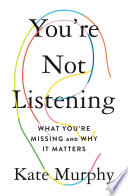 You're Not Listening image