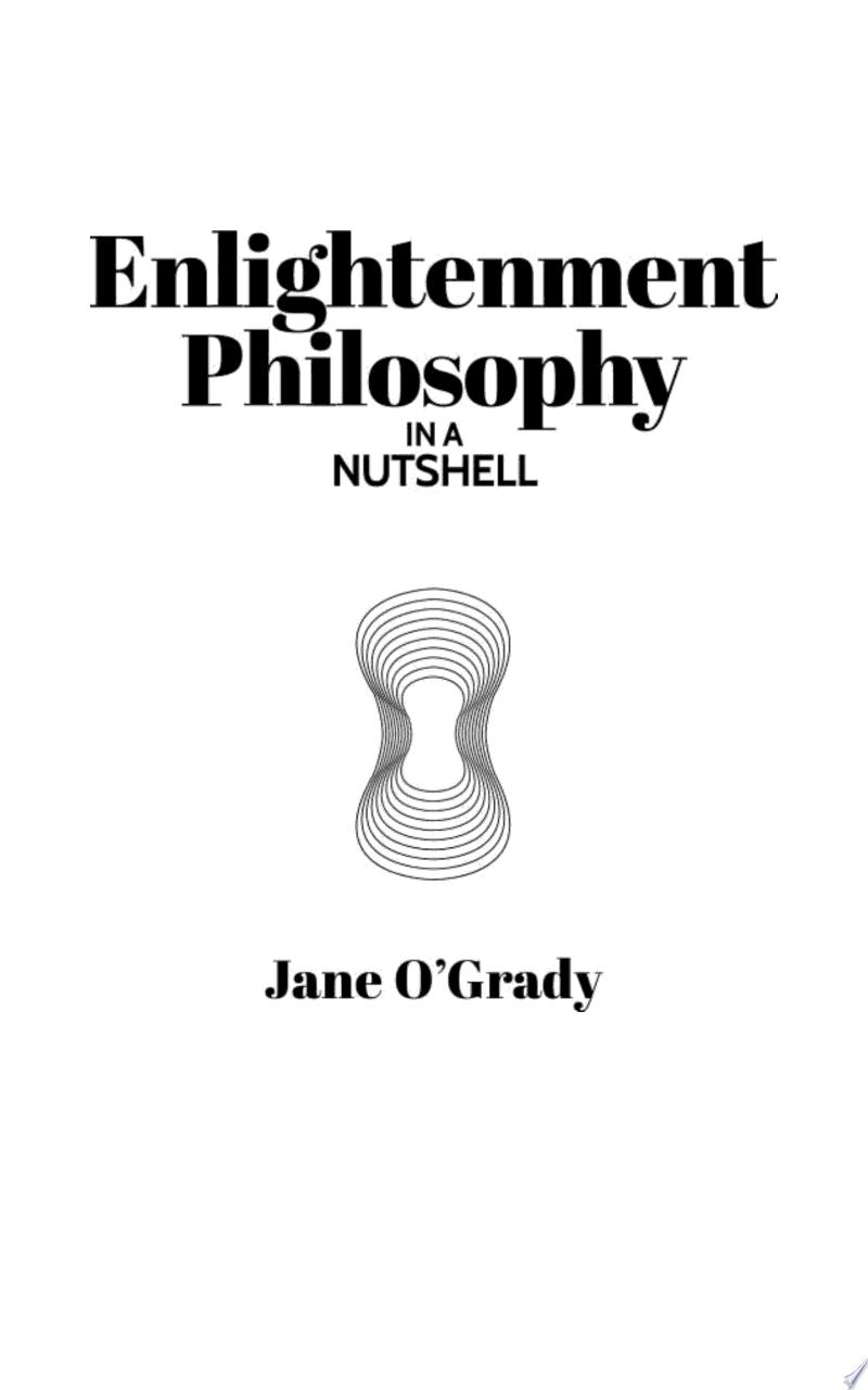 Knowledge in a Nutshell: Enlightenment Philosophy banner backdrop