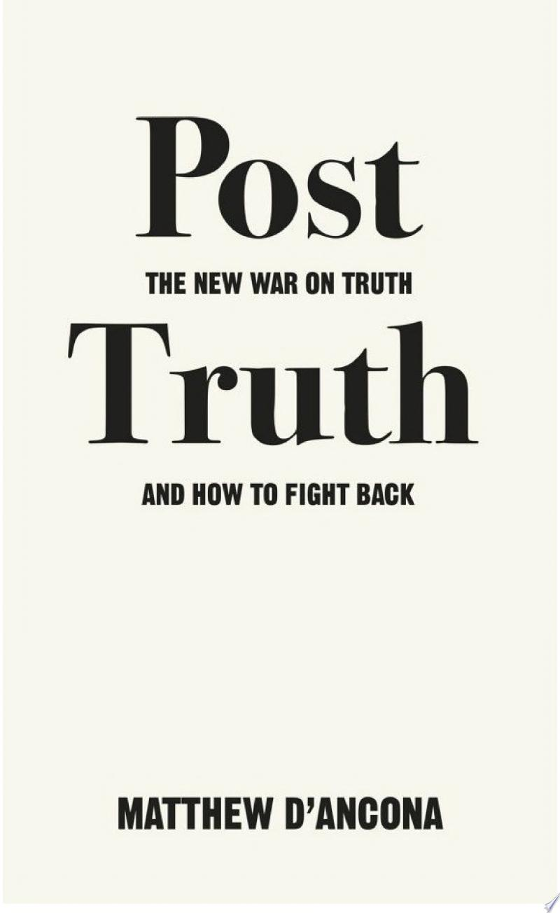 Post-Truth banner backdrop