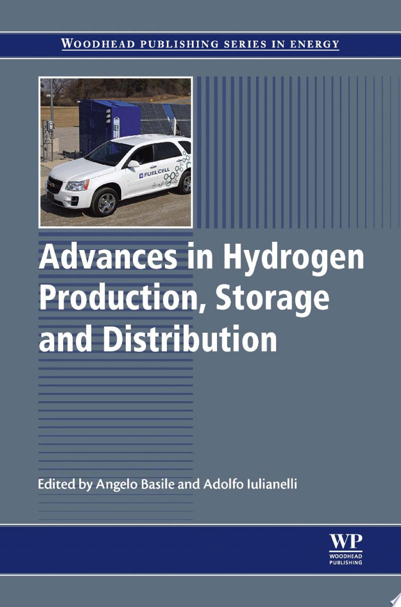 Advances in Hydrogen Production, Storage and Distribution banner backdrop