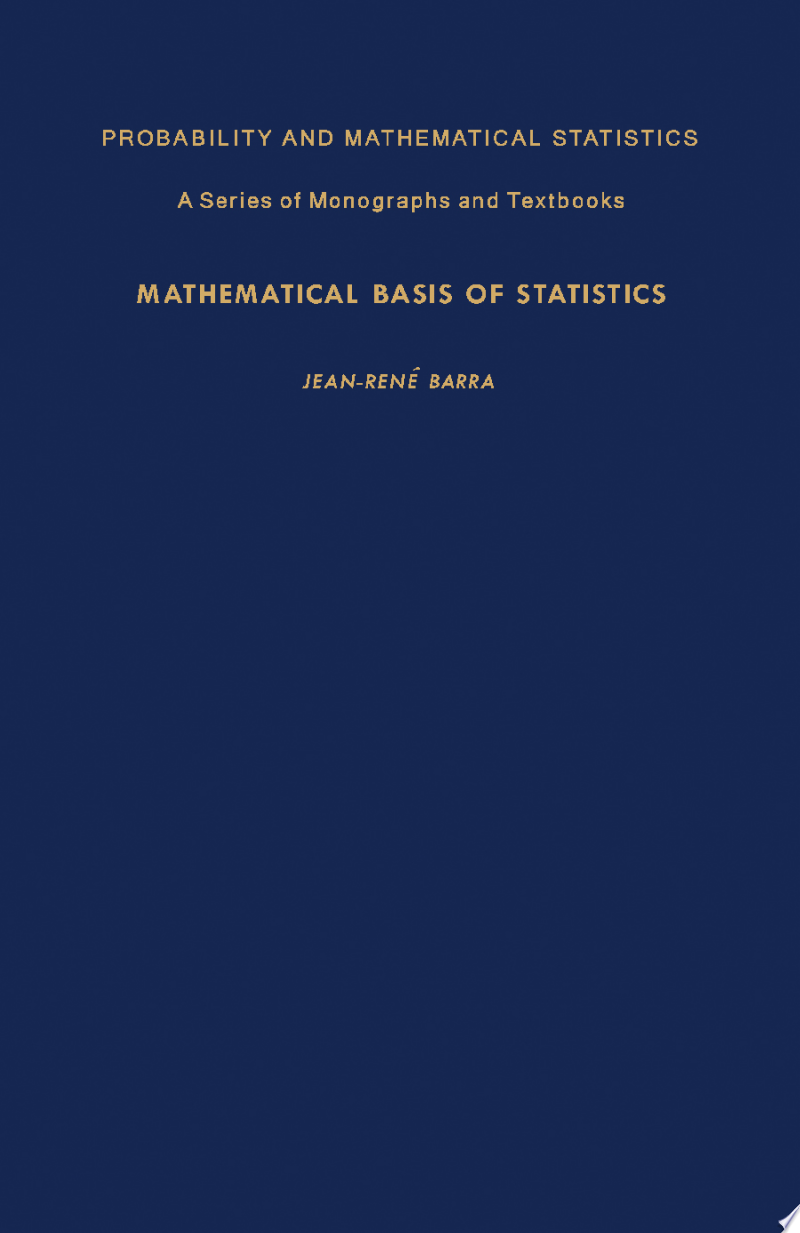 Mathematical Basis of Statistics banner backdrop