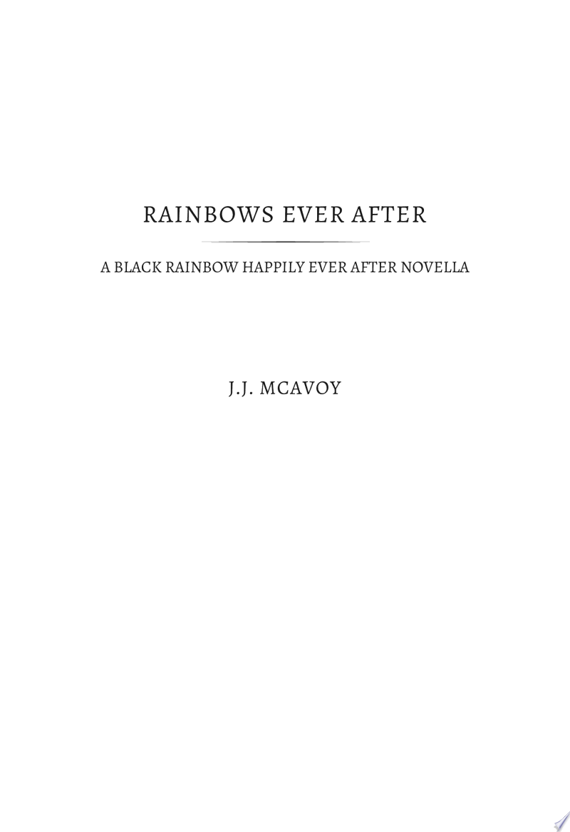 Rainbows Ever After banner backdrop