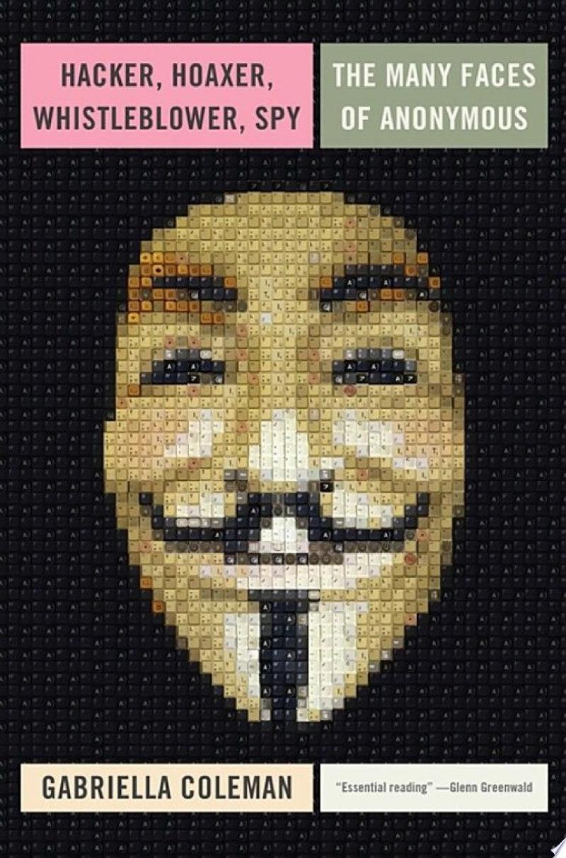 Hacker, Hoaxer, Whistleblower, Spy banner backdrop
